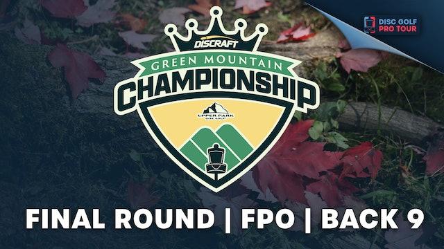 Final Round, Women's Back | Green Mountain Championship