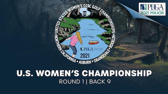 United States Women's Disc Golf Championship | Round 1 | Back 9