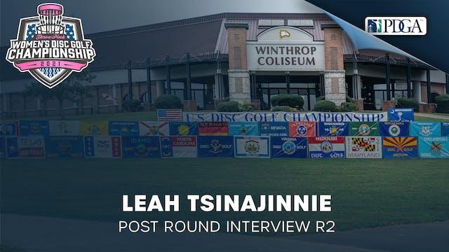 TPWDGC Round 2 - Post Round Interview...