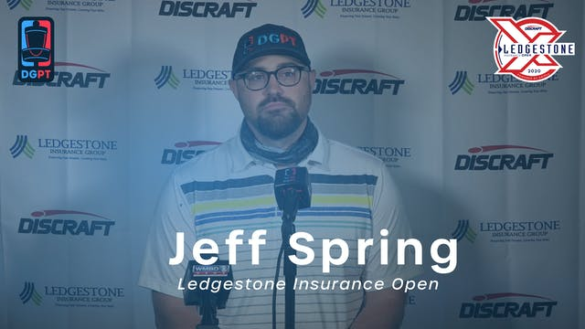 Jeff Spring Press Conference Interview