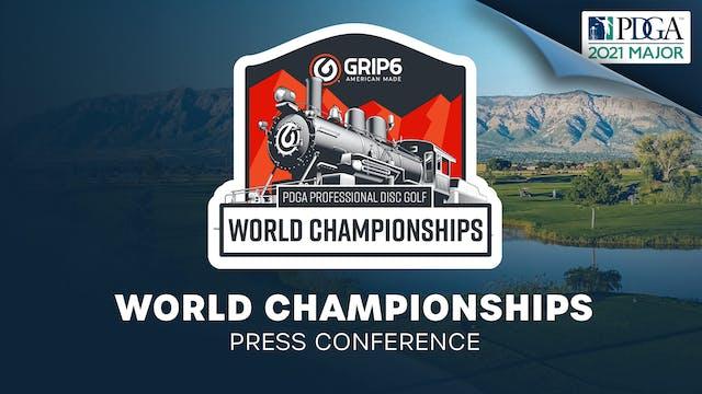 PDGA Worlds | Press Conference