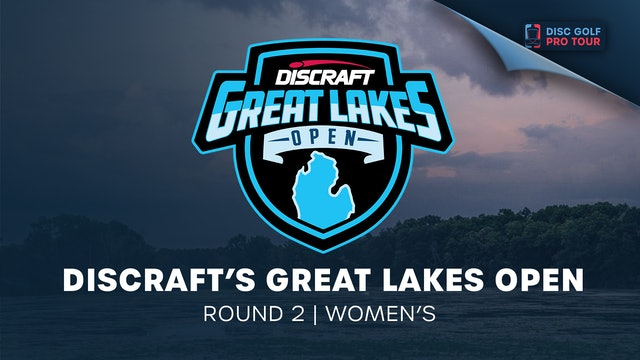 Discraft's Great Lakes Open   Round 2   Women's