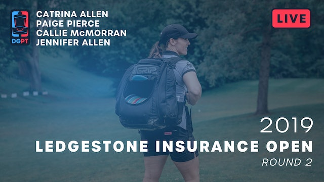 2019 Ledgestone Insurance Open Live Replay - FPO Round 2