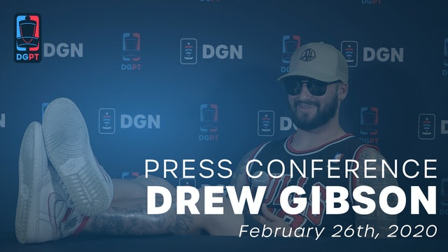 Drew Gibson Uncut Press Conference (With Outtakes)