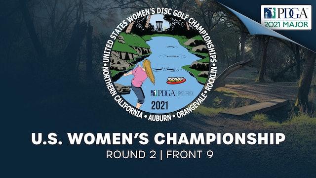 United States Women's Disc Golf Championship | Round 2 | Front 9