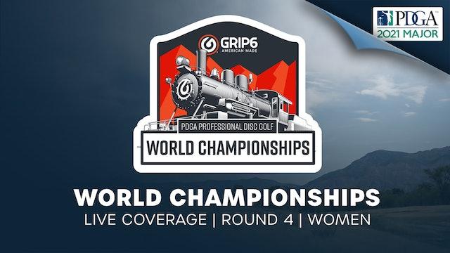 PDGA World Championships | Round 4 | Women