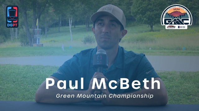 Paul McBeth Press Conference Interview