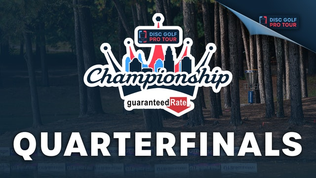 Quarterfinals, MPO   Tour Championship Presented by Guaranteed Rate
