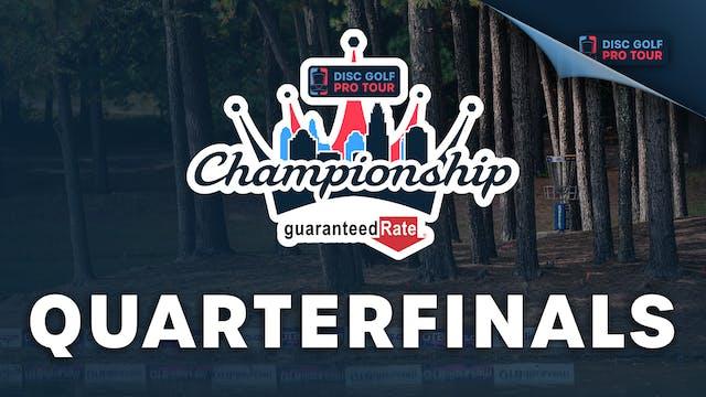 Quarterfinals, MPO | Tour Championshi...