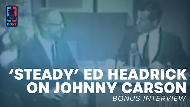 'Steady' Ed Headrick on The Tonight Show with Johnny Carson