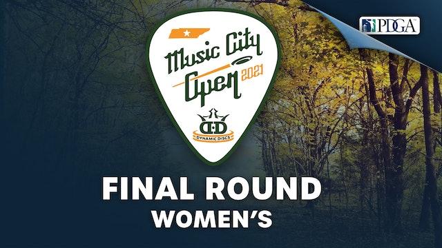 Final Round, Women's   Music City Open
