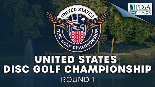 United States Disc Golf Championship | Round 1