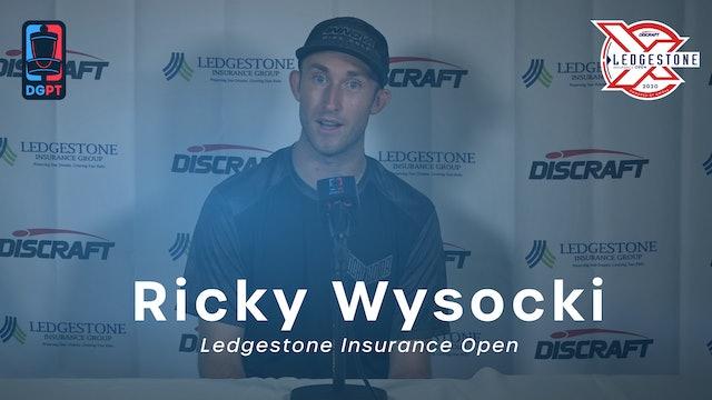 Ricky Wysocki Press Conference Interview