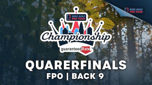 Quarterfinals, FPO, Back 9   Tour Championship