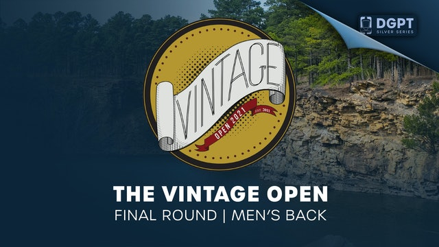 The Vintage Open | Final Round | Men's Back