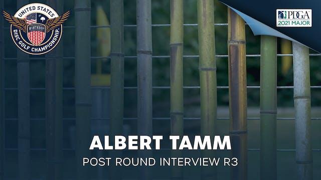 USDGC Round 3 - Post Round Interview - Albert Tamm