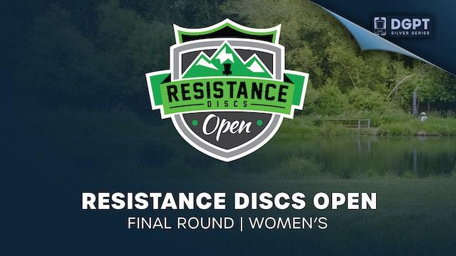 Resistance Discs Open | Final Round | Women's