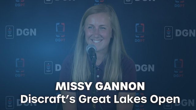 Missy Gannon Press Conference Interview