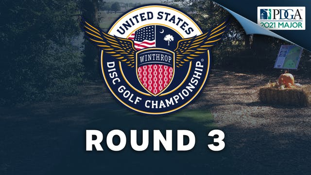 Round 3   United States Disc Golf Cha...