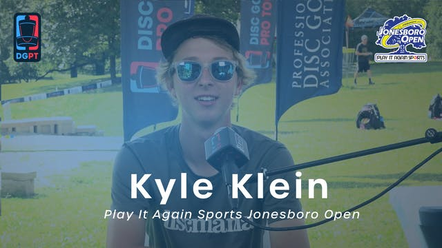 Kyle Klein Press Conference Interview