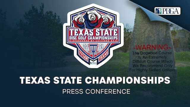 Texas State Championships Presented by Latitude64 | Press Conference