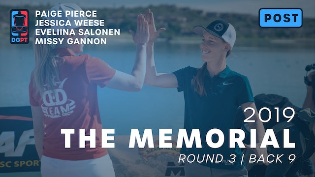 2019 Memorial Post Produced - FPO Round 3 | Back 9