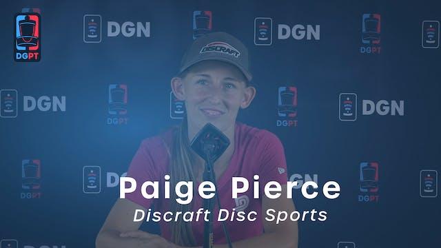 Paige Pierce Press Conference