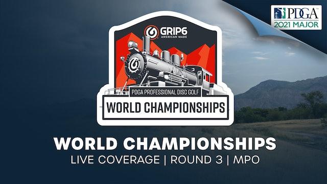 PDGA World Championships | Round 3 | Men
