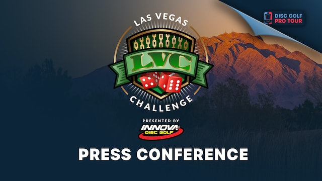 Las Vegas Challenge Presented by Innova | Press Conference