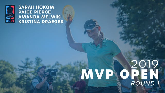 2019 MVP Open Live Replay - FPO Round 1