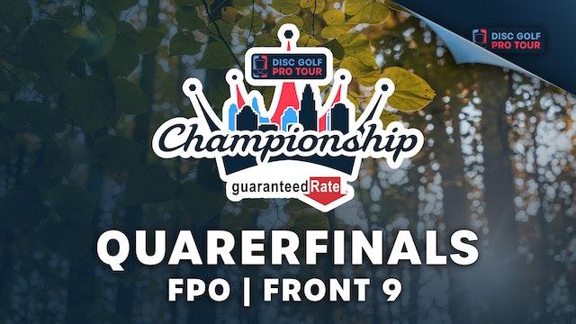 Quarterfinals, FPO, Front 9   Tour Championship