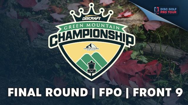 Final Round, Women's Front | Green Mountain Championship