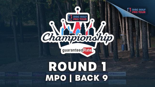 Round 1, MPO, Back 9   Tour Championship