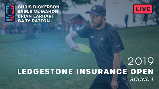 2019 Ledgestone Insurance Open Live Replay - MPO Round 1