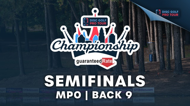 Semifinals, MPO, Back 9   Tour Championship