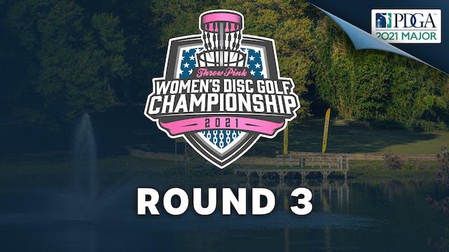 Round 3   Throw Pink Women's Disc Golf Championship