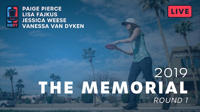 2019 Memorial Live Replay - FPO Round 1