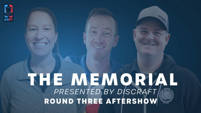 The Memorial Live - Round Three Aftershow