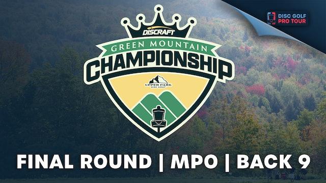 Final Round, Men's Back | Green Mountain Championship