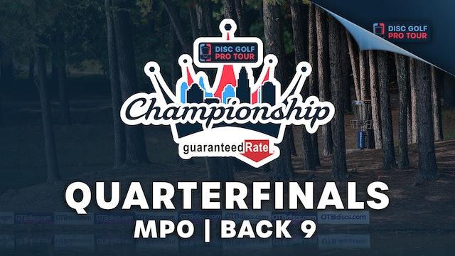 Quarterfinals, MPO, Back 9   Tour Championship