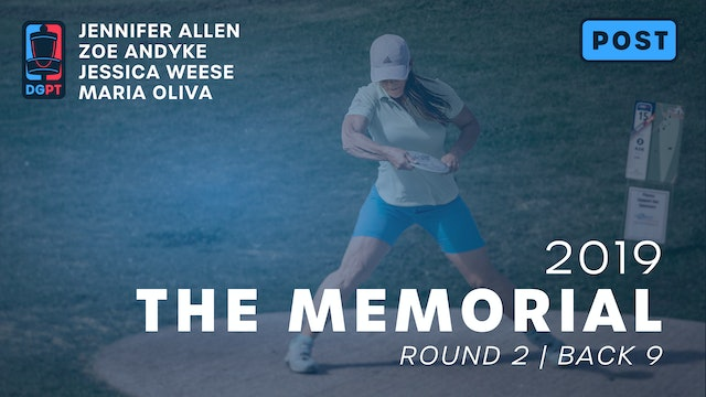 2019 Memorial Post Produced - FPO Round 2 | Back 9