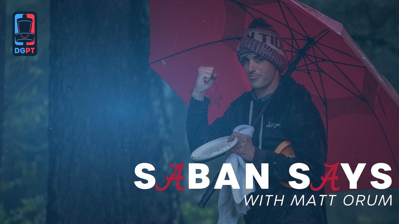 Saban Says