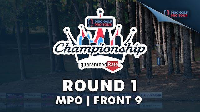 Round 1, MPO, Front 9   Tour Champion...