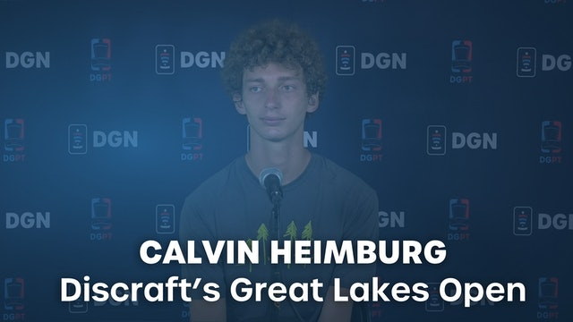 Calvin Heimburg Press Conference Interview