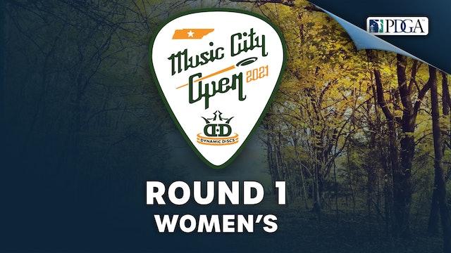 Round 1, Women's   Music City Open