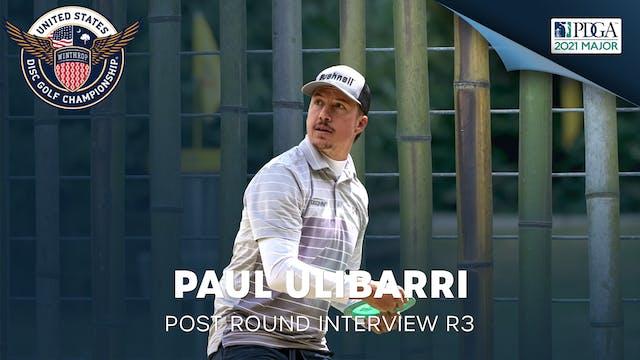 USDGC Round 3 - Post Round Interview - Paul Ulibarri