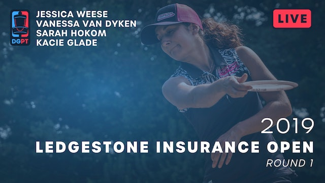 2019 Ledgestone Insurance Open Live Replay - FPO Round 1