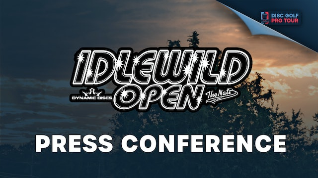 Press Conference | Idlewild Open