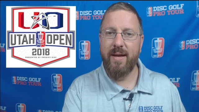 Round Three 2018 Utah Open - FPO & MP...