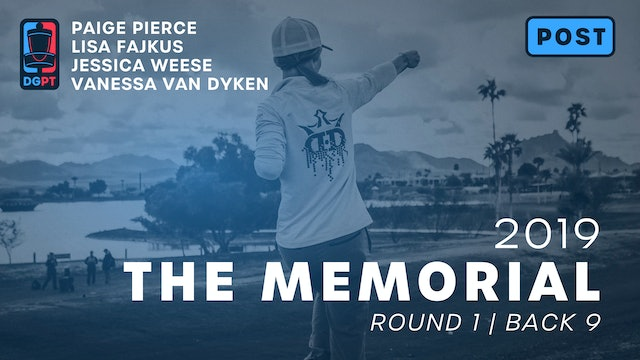 2019 Memorial Post Produced - FPO Round 1 | Back 9